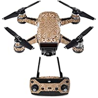 Skin for DJI Spark Mini Drone Combo - Carved| MightySkins Protective, Durable, and Unique Vinyl Decal wrap cover | Easy To Apply, Remove, and Change Styles | Made in the USA