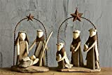 Driftwood Nativity Scene - Set of 2