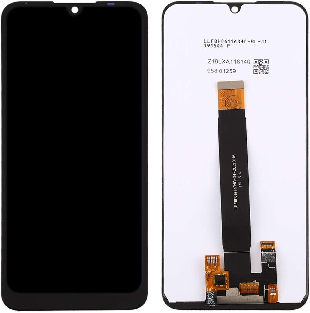 Color : Black Black ZQ House LCD Screen and Digitizer Full Assembly for BQ BQ-6040L Magic