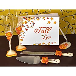 Fall In Love Wedding Accessory Set