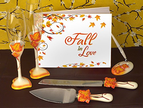 Fall In Love Wedding Accessory Set