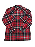 Ely Cattleman Mens Western Quilted Flannel Plaid 4-Shirt Bundle Pack