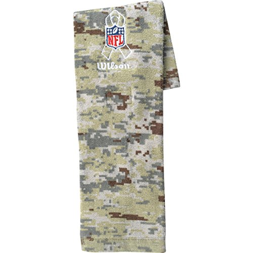 WILSON Football Salute to Service Field NFL Towel CAMO