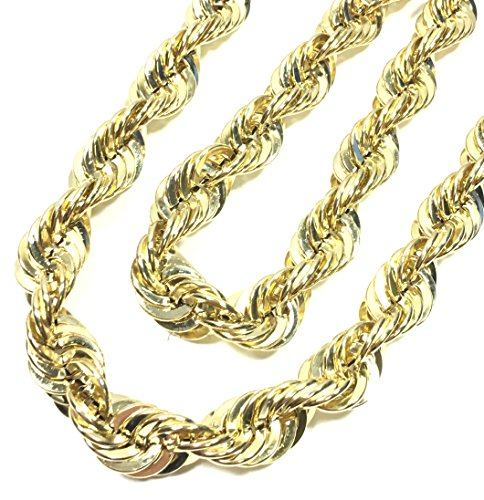 UNITEDEAL NEW 10K YELLOW GOLD 15 MM WIDE 30