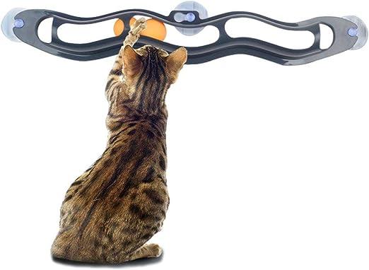 Yonfan - Pelota interactiva con 3 ventosas para Gatos, Gatitos ...