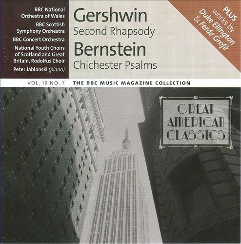Gershwin - Second Rhapsody, Bernstein - Chichester Psalms, Grofe - Mississippi Suite & Ellington - Harlem By N/A (0001-01-01) (Bernstein Chichester Music Book Psalms)
