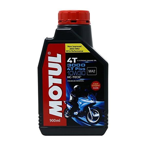 Motul 3000 4T Plus 10W-30 HC Tech Motorcycle Oil (0.9 L)