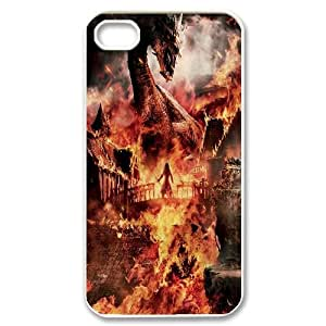 Diy The Hobbit Cell Phone Case, DIY Durable Cover Case for iPhone 4/4G/4S The Hobbit
