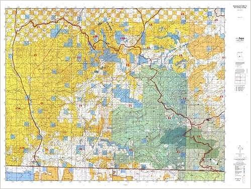 Wyoming ELK GMU 21 Hunt Area / Game Management Units (GMU) Map ...
