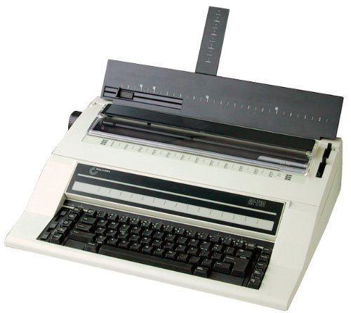 - NAKAJIMA AE-710S Electronic Typewriter with Spanish Keyboard, 2cps Print Speed, Automatic Centering, Automatic Carrier Return, Automatic Word Correction, Automatic Underlining, Bold Type