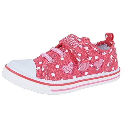 Axim Sneaker für Den Mädchen Schule Komfortabel Innensohle Aus Leder (23074) (26-16,2cm)