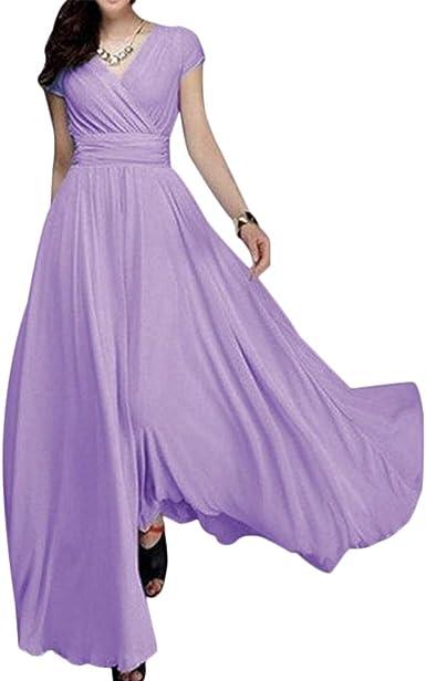 Women Party Evening Wedding Bridesmaid Prom Graduation Ball Long Lace Dress Form