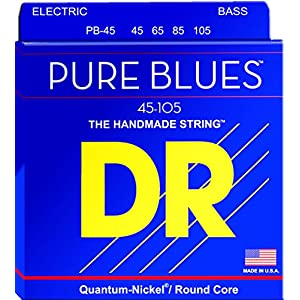 DR Strings PB-45 Pure Blues Bassgitarrensaiten, Diapason lang