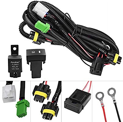 NEW Wiring Harness Socket Switch for H11 Fog Light Lamp Ford Focus Acura Nissan