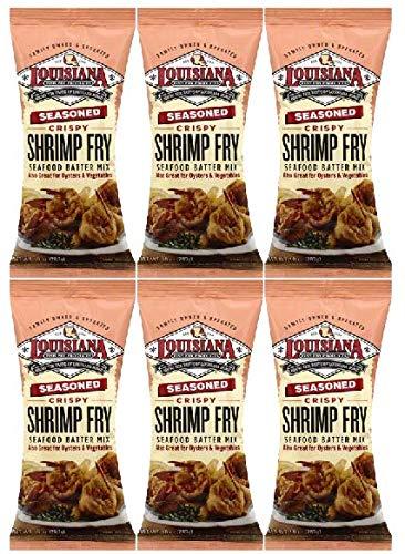Louisiana Fish Fry Louisiana Shrimp Fry, 10 oz (Pack of 6) by Louisiana Fish Fry Products