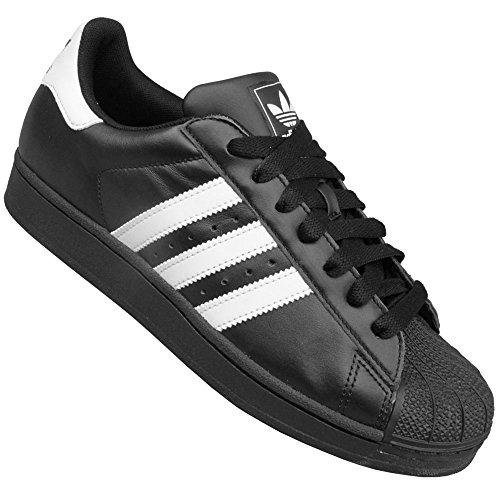 Adidas Originals Superstar Ii Sneaker Unisex-erwachsene Nero / Bianco