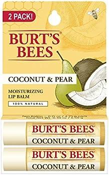 2-Piece Burt's Bees Natural Moisturizing Lip Balm