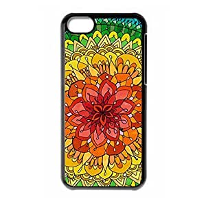 Hard back shell with Ethnic Tribal Indian Mandala style for iPhone 5C