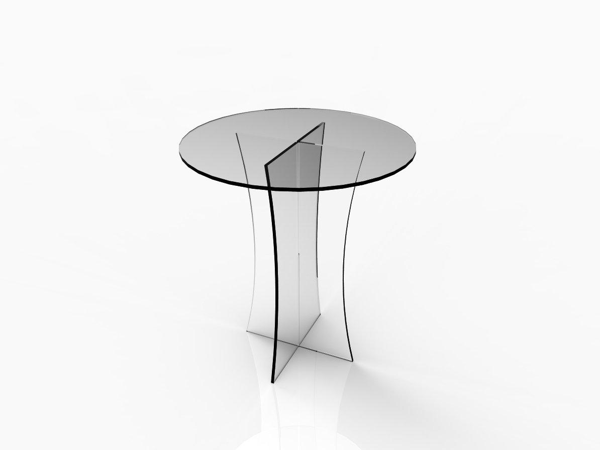 Amazon.com: Fixture Displays Clear Acrylic Table, Breakfast Table,  Tradeshow Desk 10033: Kitchen U0026 Dining Part 75