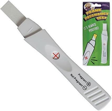 Amazon Com Prank Fake Pregnancy Test Tests Positive Toys Games