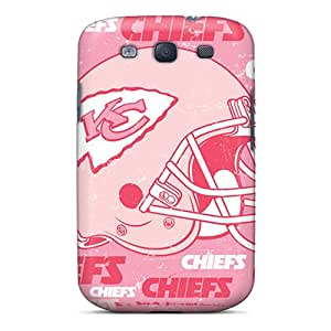 Scratch Resistant Hard Cell-phone Case For Samsung Galaxy S3 With Support Your Personal Customized Fashion Kansas City Chiefs Pictures LisaSwinburnson
