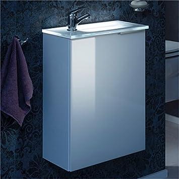 Amazon.de: Fackelmann Gäste WC Set KARA / Waschbecken mit ...