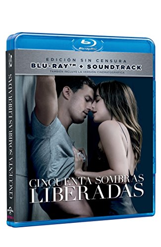 Cincuenta Sombras Liberadas Edición Sin Censura (FIFTY SHADES FREED) BLU-RAY + SOUNDTRACK CD (English, Spanish & Portuguese Audio and Subtitles)