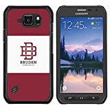 # Cellphone Hard Case PC Protective Cover Shell Case forSamsung Galaxy S6 Active G890A # university brand maroon logo student # Gift Phone Case Housing #