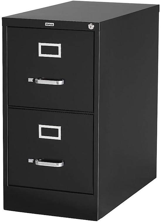 Amazon Com Staples 85988 2 Drawer Vertical File Cabinet Locking