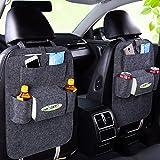 #1: OLSUS Car Backseat Organizer Bag Holder Seat Hanging Box Wool Felt Storage Container