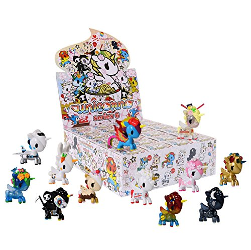 Full Case of 24 Unicorno Series 6 Blind Box Vinyl Toy Mini Figures by Tokidoki