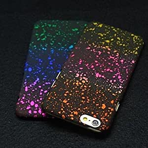 QJM iPhone 6 compatible Mixed Color/Special Design Back Cover , 7#