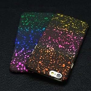 tres colores de estrella pc cubierta suave para el iphone 6 (colores surtidos)