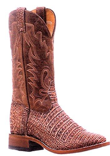 Bottes américaines - Exotique (Caiman) BO-5519-E (pied normal) - Homme - Cuir - marron