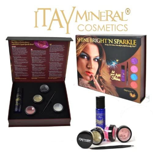 c618de42a592 ITAY Mineral Cosmetics Shine Bright'N Sparkle Pearl Set Makeup Gift ...