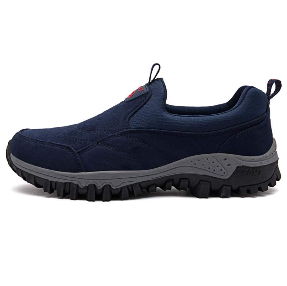 HYLFF Männer Wanderschuhe, leicht verstellbare Wander Wanderweg wandernde KnöchelStiefel Schuhe