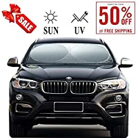 Windshield Sun Shade Cover Visor Protector Sunshades Covers Awning Shades- for Car Suv Truck Universal Fit 63 X 34 inches