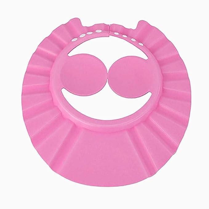 Casquillo de ducha ajustable champú para bebés Baden Wash protector ...