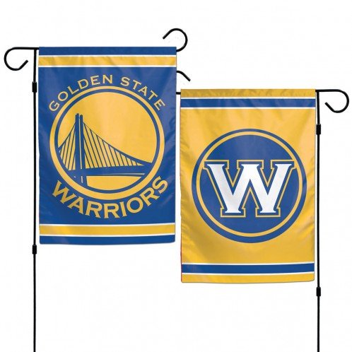 WinCraft NBA Golden State Warriors Garden Flag 12x18, 2 Sided, Team Colors by WinCraft