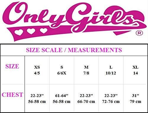 6 Pack Only Girls by Rene ROFE Nylon//Spandex Seamless Training Bra