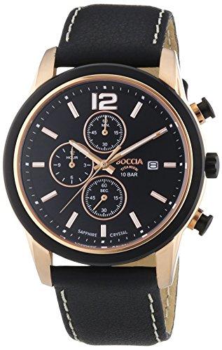 3759-02 Mens Boccia Titanium Chronograph Watch