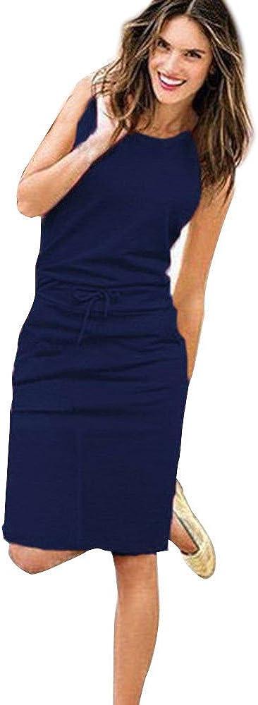 Hirolan Kleider Damen Fr/ühling Sommer Herbst Kleider Spitze Lange /Ärmel Schulterfreies Kleid Wei/ßes Strandkleid Swing Boho Casual Party T/äglich MiniKleid