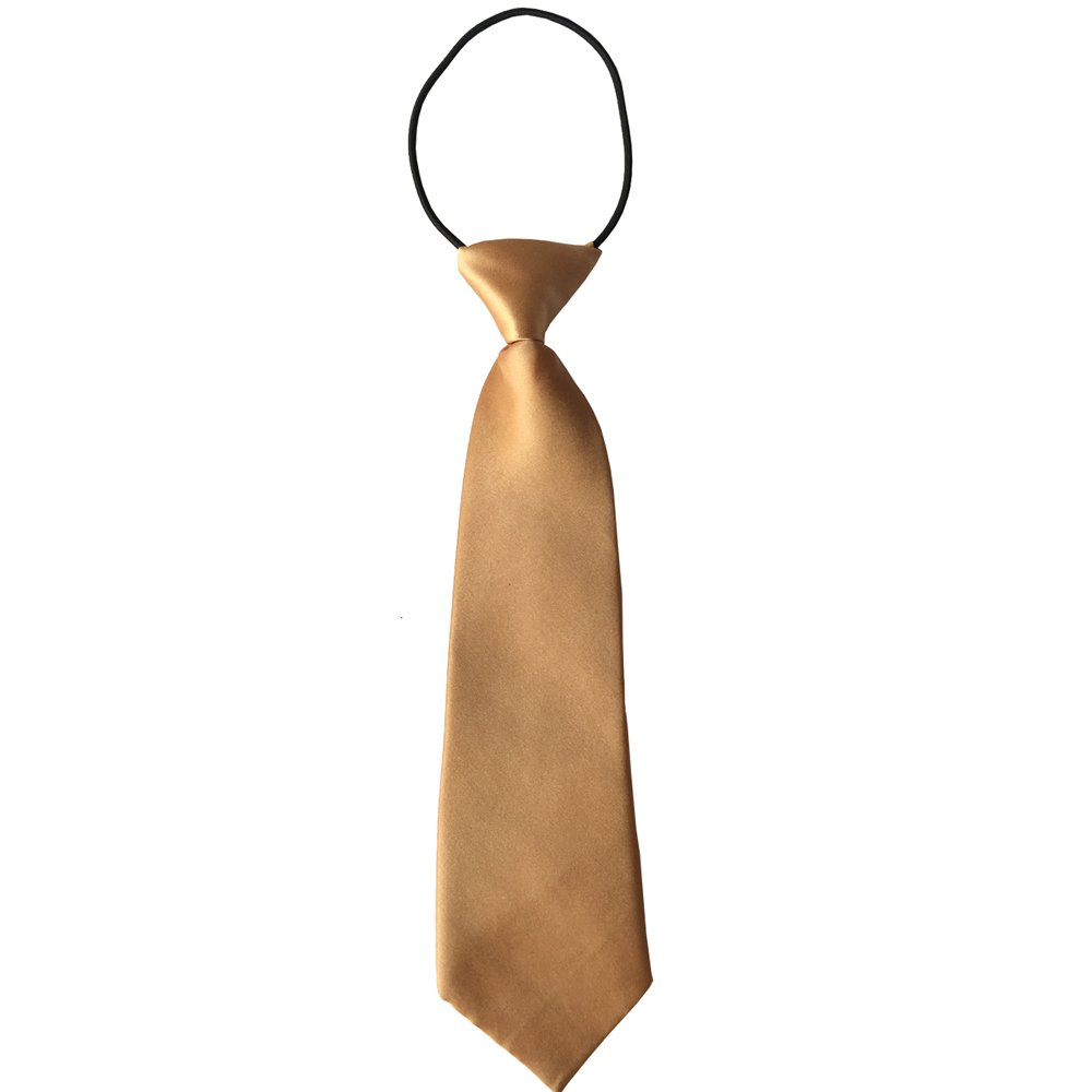 Good.news Polyester Kinderkrawatte Jungen Kinder Krawatte mit Gummiband