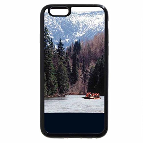 iPhone 6S / iPhone 6 Case (Black) Rafting, Gaspesie