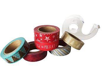 """de jumbo Washi Tape Juego de Xmas – Washi Tape Juego de""""Navidad,"""