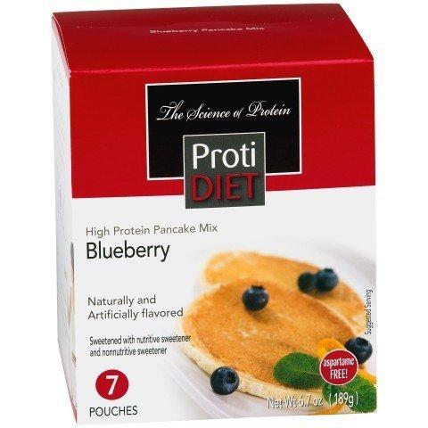 Protidiet Pancakes (ProtiDiet Blueberry Pancakes 6.7oz 7 pouches by Protidiet)