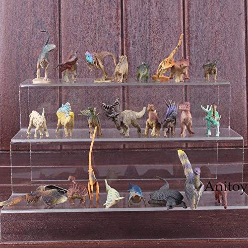 24pcs/Set 1-7cm (0.4-2.8 inch) Jurassic Park Figure / Jurassic World Toys / PVC Figue ()