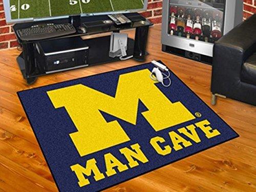 - Wholesale FanMats University of Michigan Man Cave All-Star Mat 34x45, [Collegiate, U of Michigan]