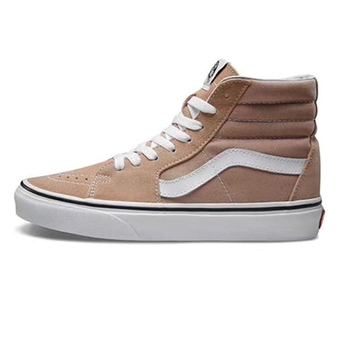 Vans Sk8-Hi High Top Sneaker Damen Herren Kinder Unisex Braun (Mahogany)