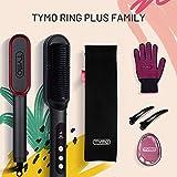 TYMO RING PLUS Ionic Hair Straightener Comb - Hair